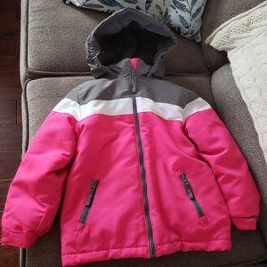 3-in-1 Winter Snow Coat pink & gray Wonderkids
